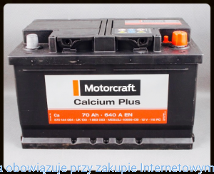 Akumulator 70Ah / 640A - Motorcraft Calcium Plus / 2247687  FORD
